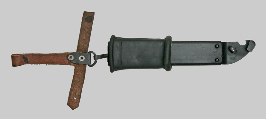 Image of AKM Type Two Transitional scabbard and belt hanger