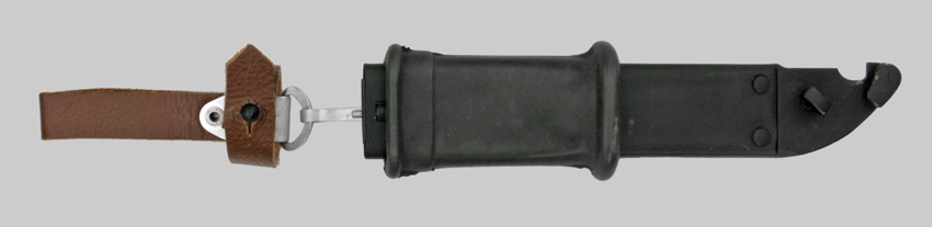 Image of AKM Type One scabbard and belt hanger