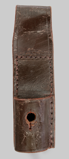 Image of South African S1 leather belt frog