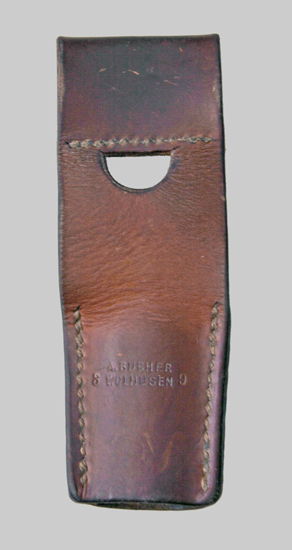 Image of a Swiss Stgw. 57 Leather Belt Frog